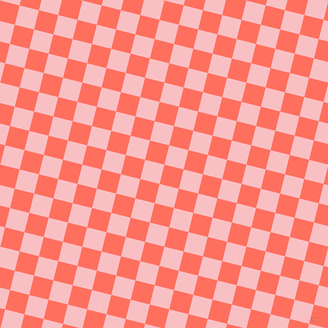 76/166 degree angle diagonal checkered chequered squares checker pattern checkers background, 39 pixel square size, , Bittersweet and Azalea checkers chequered checkered squares seamless tileable