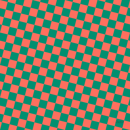 76/166 degree angle diagonal checkered chequered squares checker pattern checkers background, 26 pixel squares size, , Bittersweet and Observatory checkers chequered checkered squares seamless tileable