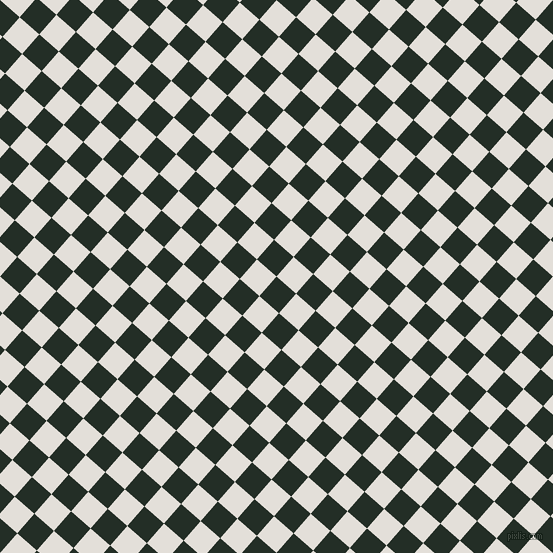 49/139 degree angle diagonal checkered chequered squares checker pattern checkers background, 26 pixel squares size, , Black Bean and Vista White checkers chequered checkered squares seamless tileable