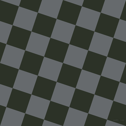 72/162 degree angle diagonal checkered chequered squares checker pattern checkers background, 64 pixel square size, , Black Forest and Mid Grey checkers chequered checkered squares seamless tileable