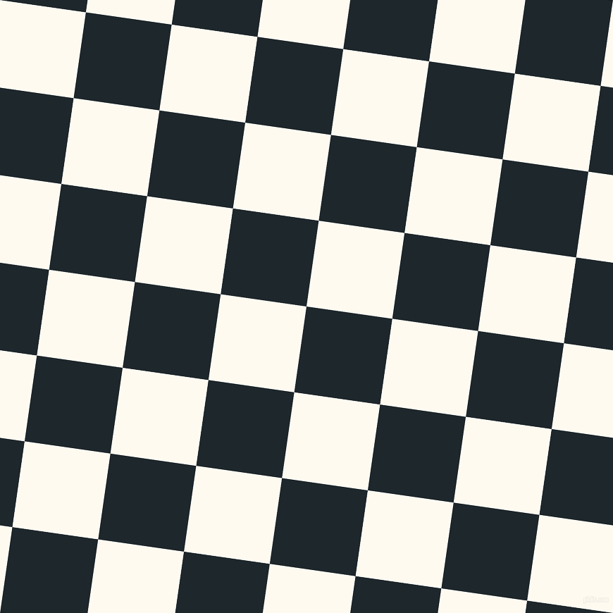 82/172 degree angle diagonal checkered chequered squares checker pattern checkers background, 123 pixel square size, , Black Pearl and Floral White checkers chequered checkered squares seamless tileable