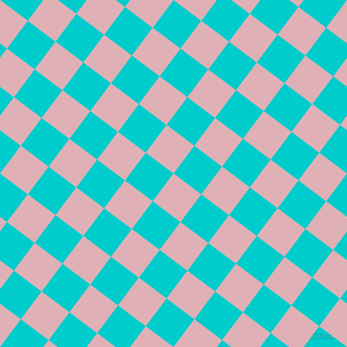 53/143 degree angle diagonal checkered chequered squares checker pattern checkers background, 49 pixel squares size, , Blossom and Robin