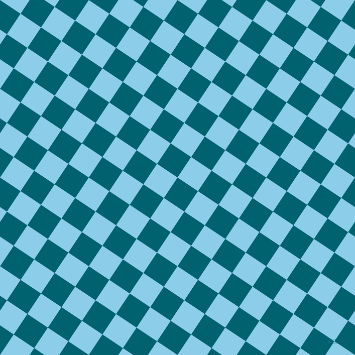 56/146 degree angle diagonal checkered chequered squares checker pattern checkers background, 49 pixel squares size, , Blue Lagoon and Anakiwa checkers chequered checkered squares seamless tileable