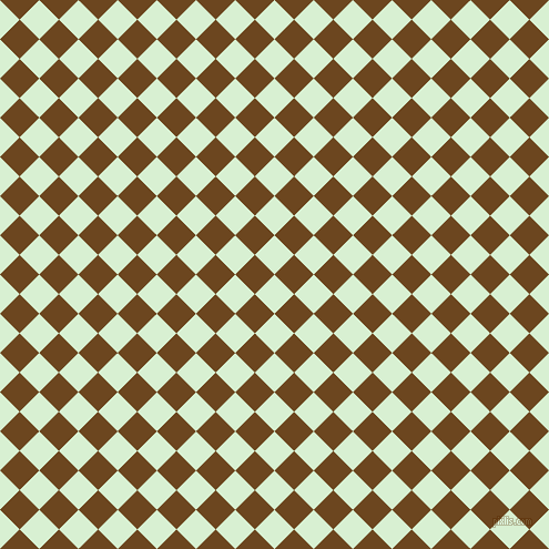 45/135 degree angle diagonal checkered chequered squares checker pattern checkers background, 25 pixel square size, , Blue Romance and Antique Brass checkers chequered checkered squares seamless tileable