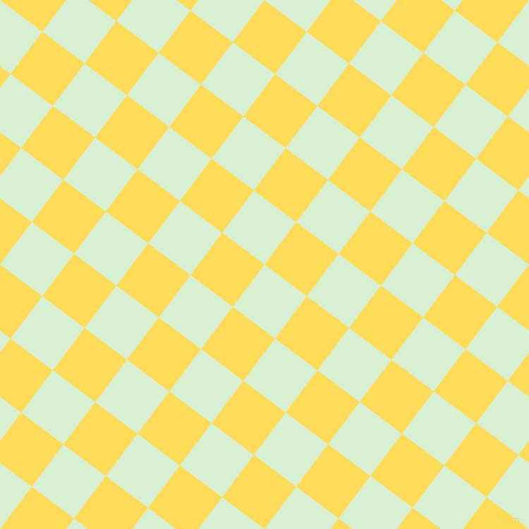 53/143 degree angle diagonal checkered chequered squares checker pattern checkers background, 75 pixel squares size, , Blue Romance and Mustard checkers chequered checkered squares seamless tileable