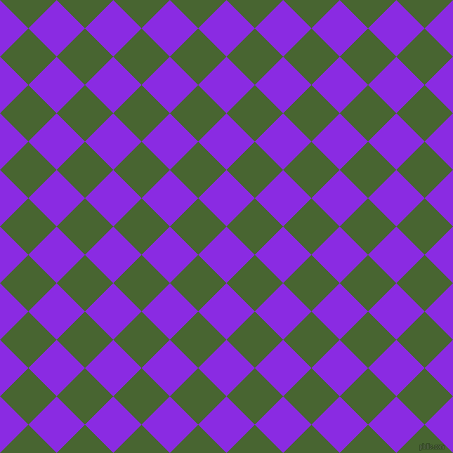 45/135 degree angle diagonal checkered chequered squares checker pattern checkers background, 57 pixel square size, , Blue Violet and Dell checkers chequered checkered squares seamless tileable