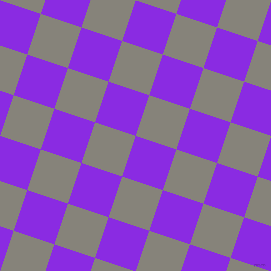 72/162 degree angle diagonal checkered chequered squares checker pattern checkers background, 140 pixel squares size, , Blue Violet and Friar Grey checkers chequered checkered squares seamless tileable