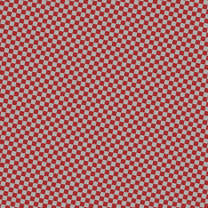79/169 degree angle diagonal checkered chequered squares checker pattern checkers background, 9 pixel squares size, , Bombay and Brown checkers chequered checkered squares seamless tileable