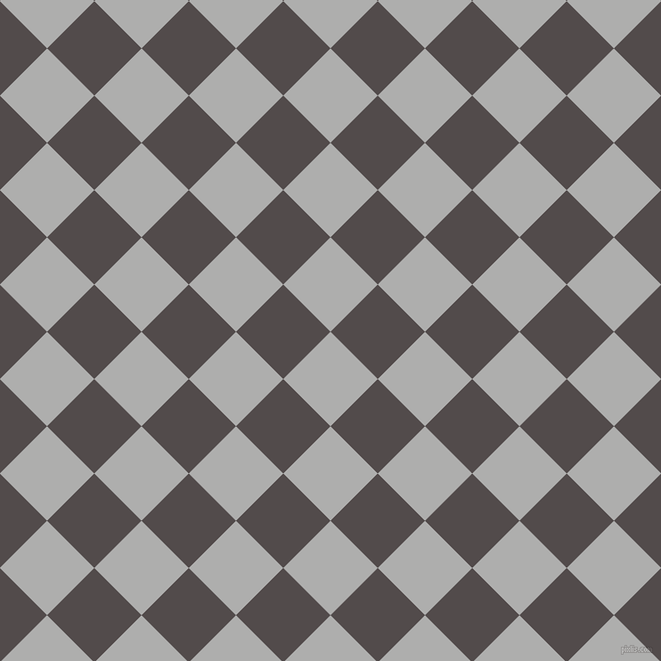 45/135 degree angle diagonal checkered chequered squares checker pattern checkers background, 75 pixel squares size, , Bombay and Matterhorn checkers chequered checkered squares seamless tileable