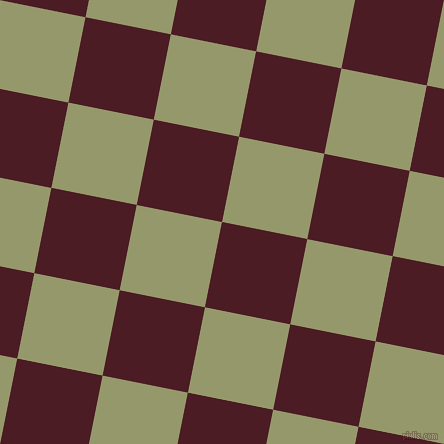 79/169 degree angle diagonal checkered chequered squares checker pattern checkers background, 87 pixel square size, , Bordeaux and Avocado checkers chequered checkered squares seamless tileable