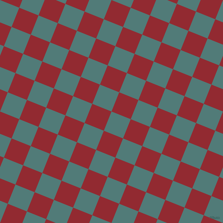 68/158 degree angle diagonal checkered chequered squares checker pattern checkers background, 71 pixel square size, , Breaker Bay and Bright Red checkers chequered checkered squares seamless tileable