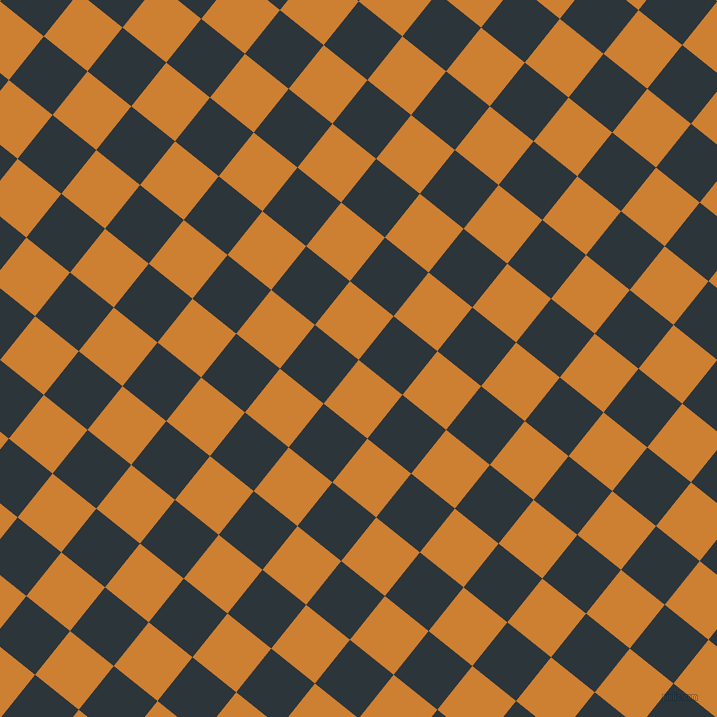 51/141 degree angle diagonal checkered chequered squares checker pattern checkers background, 56 pixel squares size, , Bronze and Gunmetal checkers chequered checkered squares seamless tileable