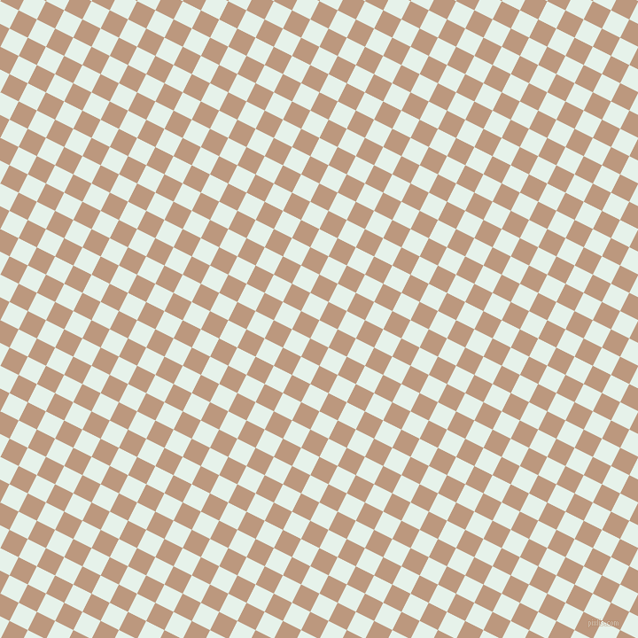 63/153 degree angle diagonal checkered chequered squares checker pattern checkers background, 23 pixel square size, Bubbles and Pale Taupe checkers chequered checkered squares seamless tileable