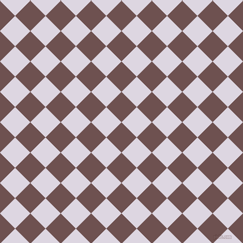 45/135 degree angle diagonal checkered chequered squares checker pattern checkers background, 42 pixel squares size, , Buccaneer and Titan White checkers chequered checkered squares seamless tileable