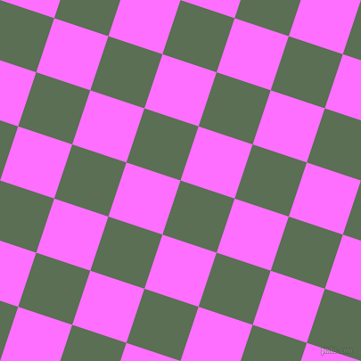 72/162 degree angle diagonal checkered chequered squares checker pattern checkers background, 64 pixel square size, , Cactus and Ultra Pink checkers chequered checkered squares seamless tileable