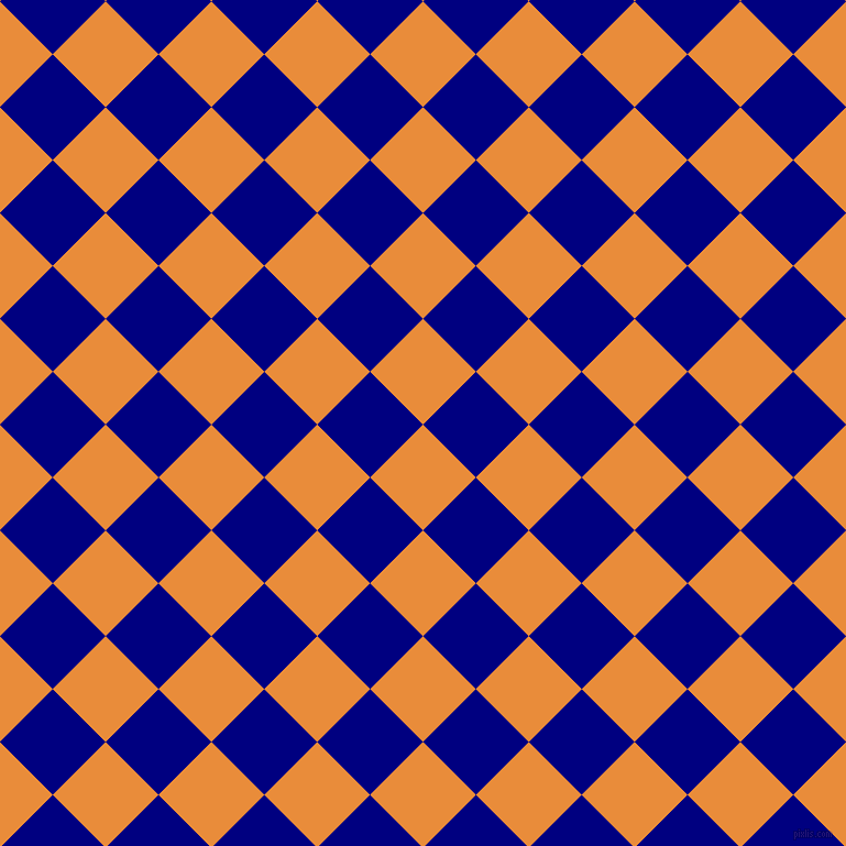 45/135 degree angle diagonal checkered chequered squares checker pattern checkers background, 68 pixel squares size, , California and Navy checkers chequered checkered squares seamless tileable