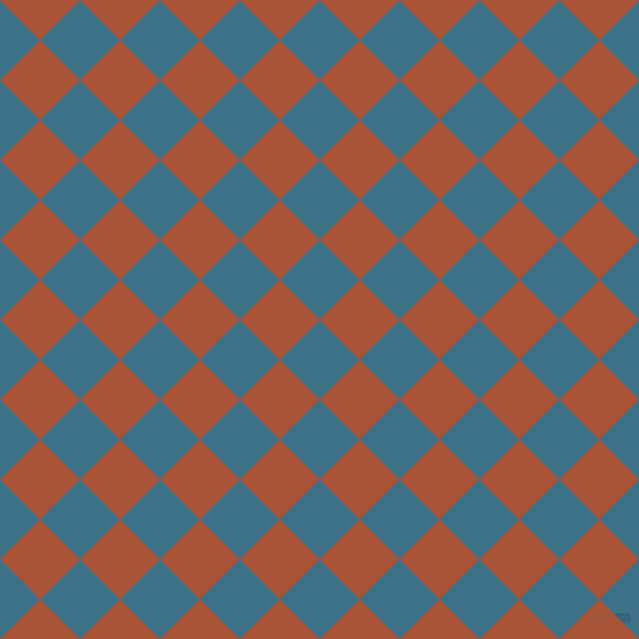 45/135 degree angle diagonal checkered chequered squares checker pattern checkers background, 51 pixel squares size, , Calypso and Orange Roughy checkers chequered checkered squares seamless tileable
