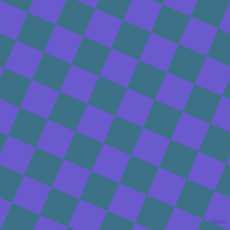 67/157 degree angle diagonal checkered chequered squares checker pattern checkers background, 62 pixel squares size, , Calypso and Slate Blue checkers chequered checkered squares seamless tileable