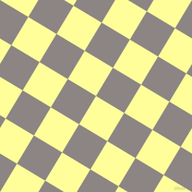 59/149 degree angle diagonal checkered chequered squares checker pattern checkers background, 108 pixel squares size, , Canary and Suva Grey checkers chequered checkered squares seamless tileable