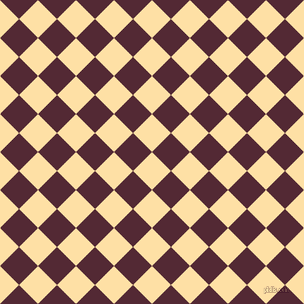 45/135 degree angle diagonal checkered chequered squares checker pattern checkers background, 38 pixel square size, , Cape Honey and Black Rose checkers chequered checkered squares seamless tileable