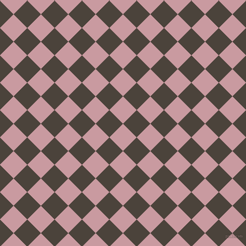 45/135 degree angle diagonal checkered chequered squares checker pattern checkers background, 39 pixel squares size, , Careys Pink and Space Shuttle checkers chequered checkered squares seamless tileable