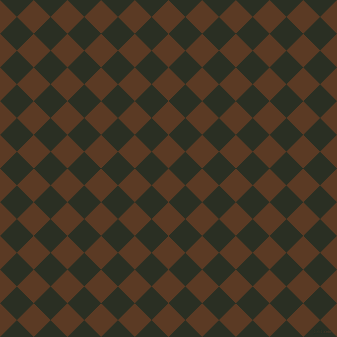 45/135 degree angle diagonal checkered chequered squares checker pattern checkers background, 48 pixel square size, , Carnaby Tan and Pine Tree checkers chequered checkered squares seamless tileable