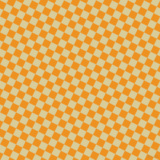63/153 degree angle diagonal checkered chequered squares checker pattern checkers background, 25 pixel squares size, , Carrot Orange and Tahuna Sands checkers chequered checkered squares seamless tileable