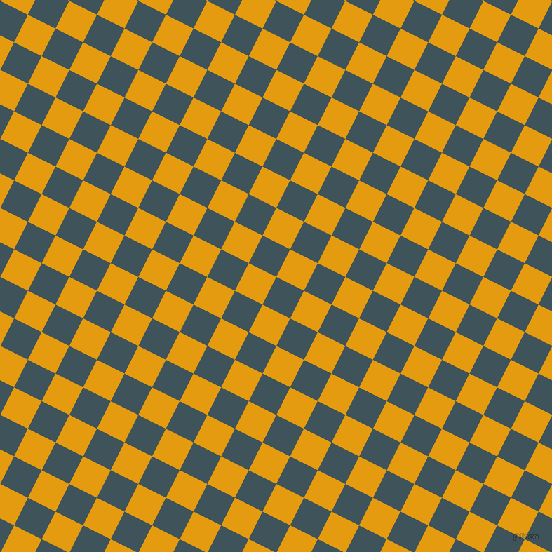 63/153 degree angle diagonal checkered chequered squares checker pattern checkers background, 44 pixel square size, , Casal and Gamboge checkers chequered checkered squares seamless tileable