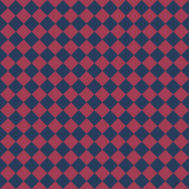 45/135 degree angle diagonal checkered chequered squares checker pattern checkers background, 38 pixel squares size, , Catalina Blue and Night Shadz checkers chequered checkered squares seamless tileable