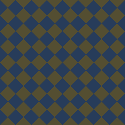 45/135 degree angle diagonal checkered chequered squares checker pattern checkers background, 37 pixel squares size, , Catalina Blue and Thatch Green checkers chequered checkered squares seamless tileable