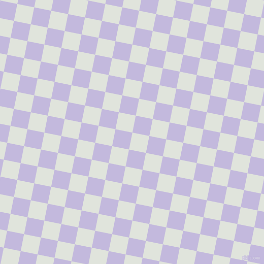 79/169 degree angle diagonal checkered chequered squares checker pattern checkers background, 34 pixel square size, , Catskill White and Melrose checkers chequered checkered squares seamless tileable
