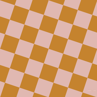 72/162 degree angle diagonal checkered chequered squares checker pattern checkers background, 65 pixel squares size, , Cavern Pink and Geebung checkers chequered checkered squares seamless tileable