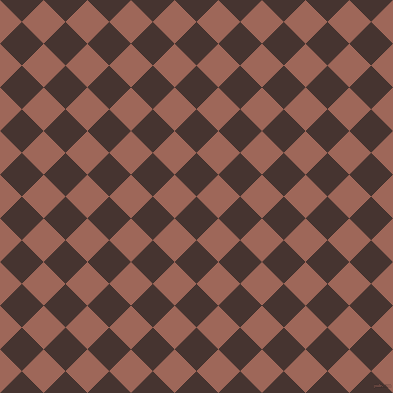 45/135 degree angle diagonal checkered chequered squares checker pattern checkers background, 63 pixel square size, , Cedar and Au Chico checkers chequered checkered squares seamless tileable