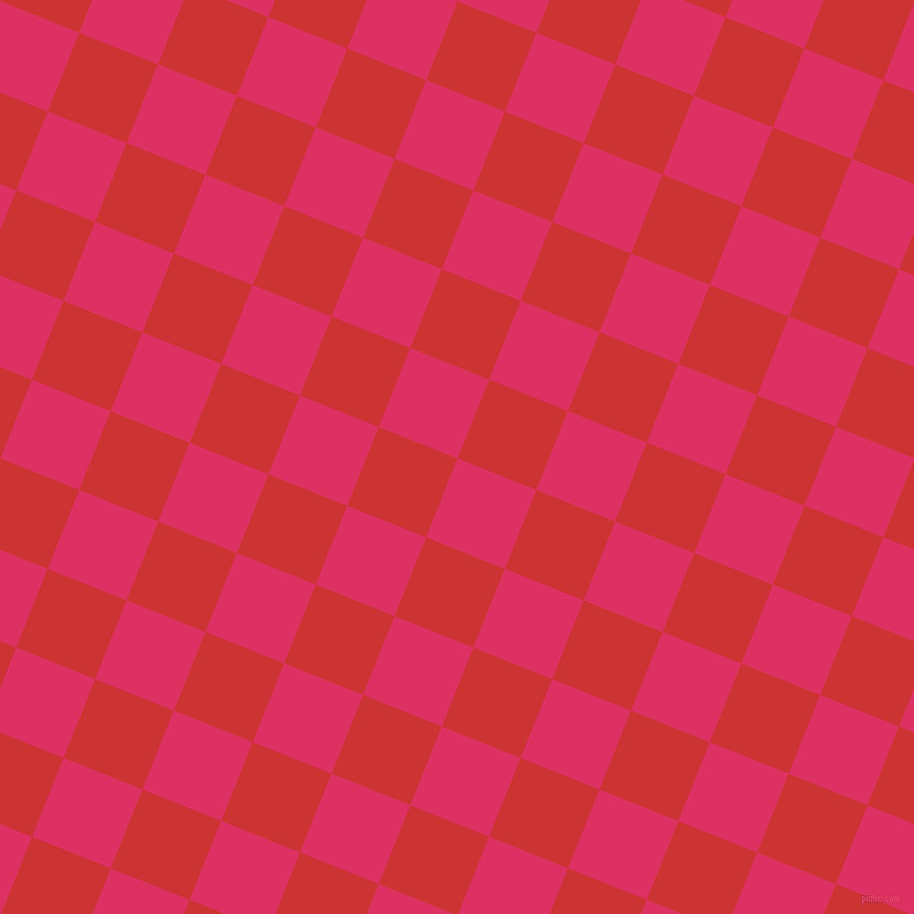 68/158 degree angle diagonal checkered chequered squares checker pattern checkers background, 77 pixel square size, , Cerise and Persian Red checkers chequered checkered squares seamless tileable