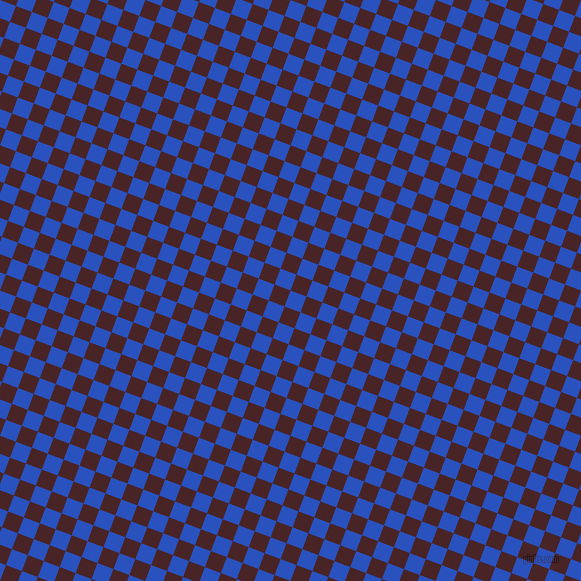 69/159 degree angle diagonal checkered chequered squares checker pattern checkers background, 17 pixel squares size, , Cerulean Blue and Bulgarian Rose checkers chequered checkered squares seamless tileable