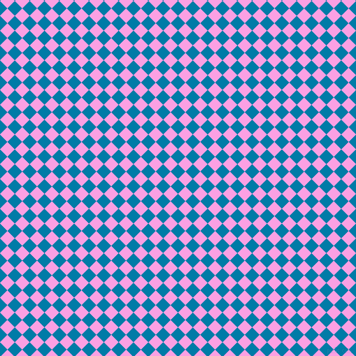 45/135 degree angle diagonal checkered chequered squares checker pattern checkers background, 15 pixel squares size, , Cerulean and Lavender Rose checkers chequered checkered squares seamless tileable