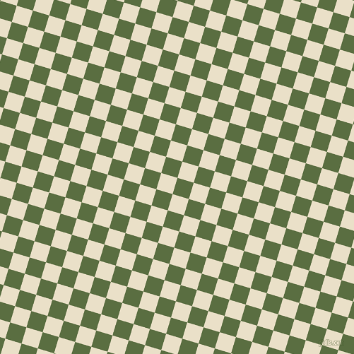 73/163 degree angle diagonal checkered chequered squares checker pattern checkers background, 24 pixel square size, , Chalet Green and Pearl Lusta checkers chequered checkered squares seamless tileable