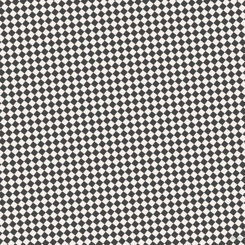 52/142 degree angle diagonal checkered chequered squares checker pattern checkers background, 18 pixel squares size, , Charcoal and Hint Of Red checkers chequered checkered squares seamless tileable
