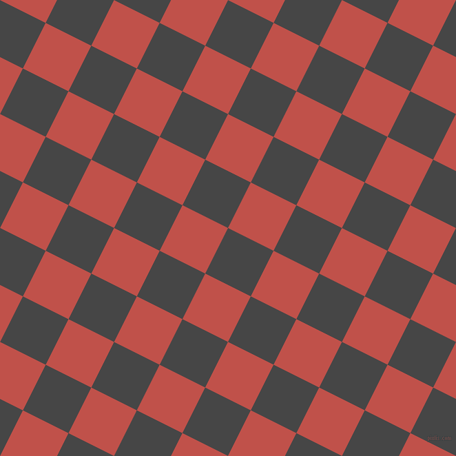 63/153 degree angle diagonal checkered chequered squares checker pattern checkers background, 74 pixel squares size, , Charcoal and Sunset checkers chequered checkered squares seamless tileable