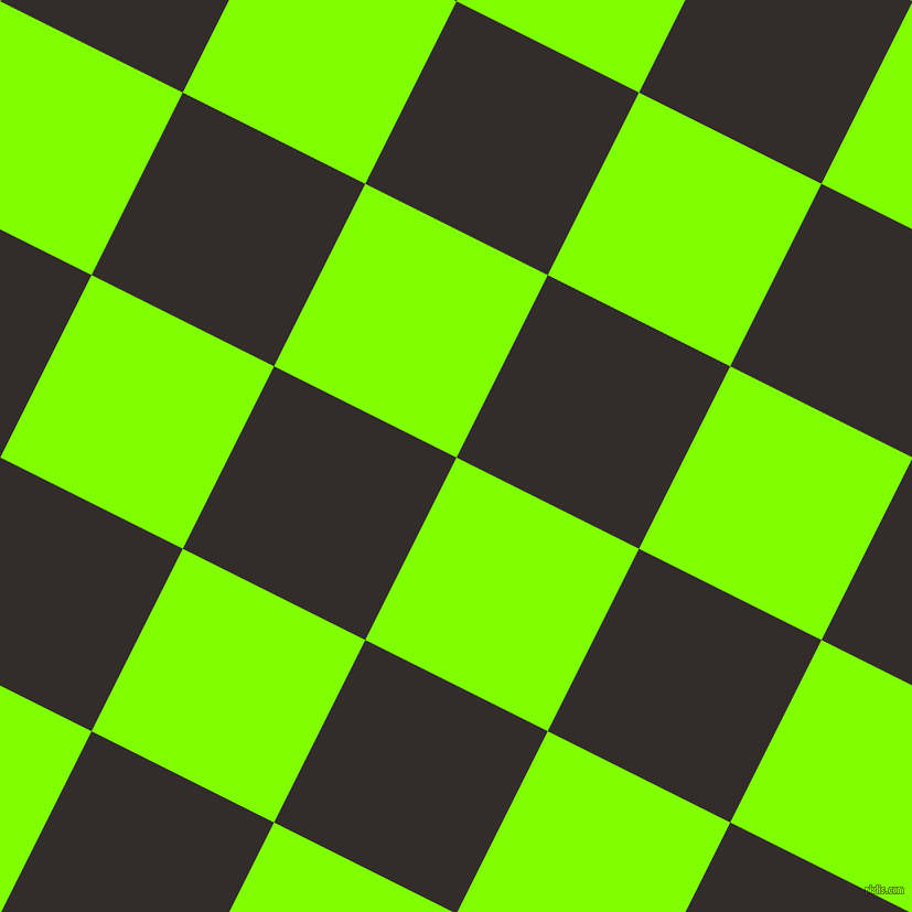 63/153 degree angle diagonal checkered chequered squares checker pattern checkers background, 185 pixel square size, , Chartreuse and Diesel checkers chequered checkered squares seamless tileable