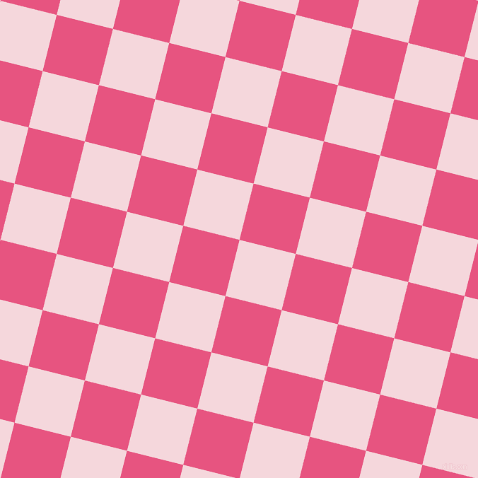 76/166 degree angle diagonal checkered chequered squares checker pattern checkers background, 82 pixel square size, , Cherub and Dark Pink checkers chequered checkered squares seamless tileable