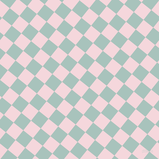 51/141 degree angle diagonal checkered chequered squares checker pattern checkers background, 41 pixel square size, , Cherub and Opal checkers chequered checkered squares seamless tileable