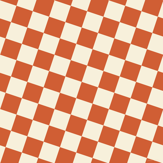 72/162 degree angle diagonal checkered chequered squares checker pattern checkers background, 56 pixel squares size, , Chilean Fire and Apricot White checkers chequered checkered squares seamless tileable