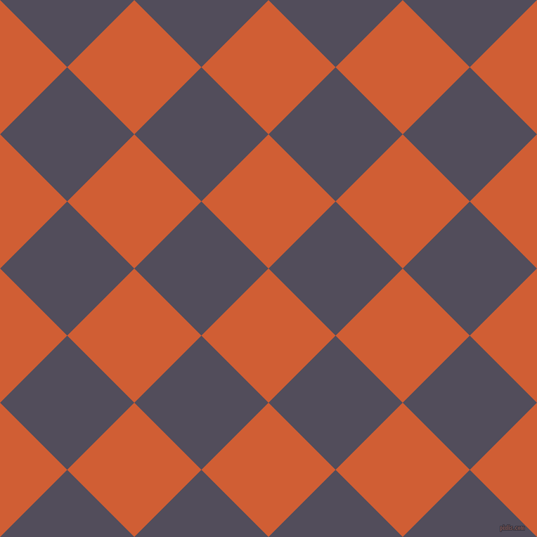45/135 degree angle diagonal checkered chequered squares checker pattern checkers background, 135 pixel square size, Chilean Fire and Mulled Wine checkers chequered checkered squares seamless tileable
