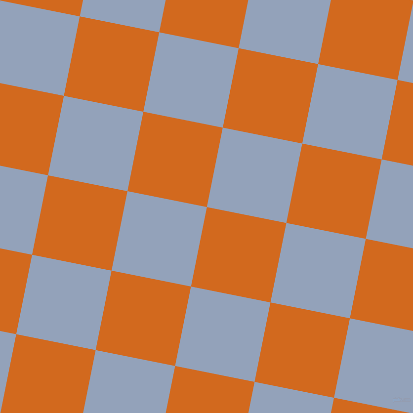79/169 degree angle diagonal checkered chequered squares checker pattern checkers background, 164 pixel square size, , Chocolate and Rock Blue checkers chequered checkered squares seamless tileable