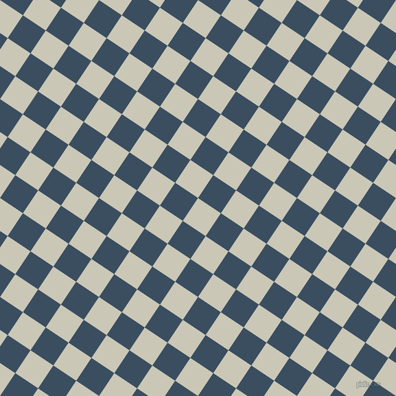 56/146 degree angle diagonal checkered chequered squares checker pattern checkers background, 40 pixel square size, , Chrome White and Cello checkers chequered checkered squares seamless tileable