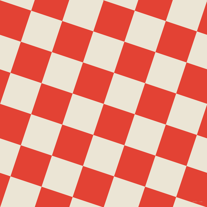72/162 degree angle diagonal checkered chequered squares checker pattern checkers background, 115 pixel squares size, , Cinnabar and Cararra checkers chequered checkered squares seamless tileable
