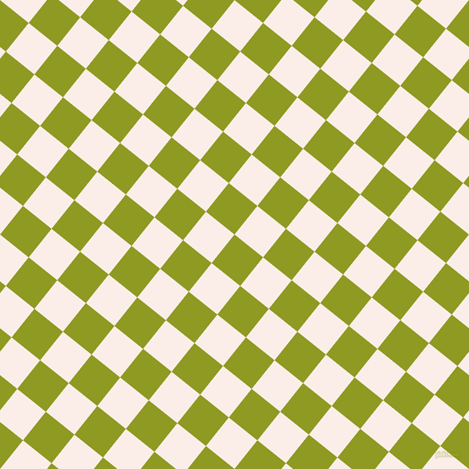 51/141 degree angle diagonal checkered chequered squares checker pattern checkers background, 53 pixel squares size, , Citron and Rose White checkers chequered checkered squares seamless tileable