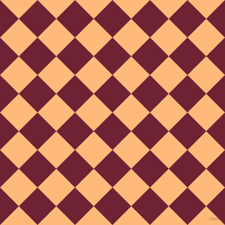 45/135 degree angle diagonal checkered chequered squares checker pattern checkers background, 88 pixel square size, , Claret and Macaroni And Cheese checkers chequered checkered squares seamless tileable