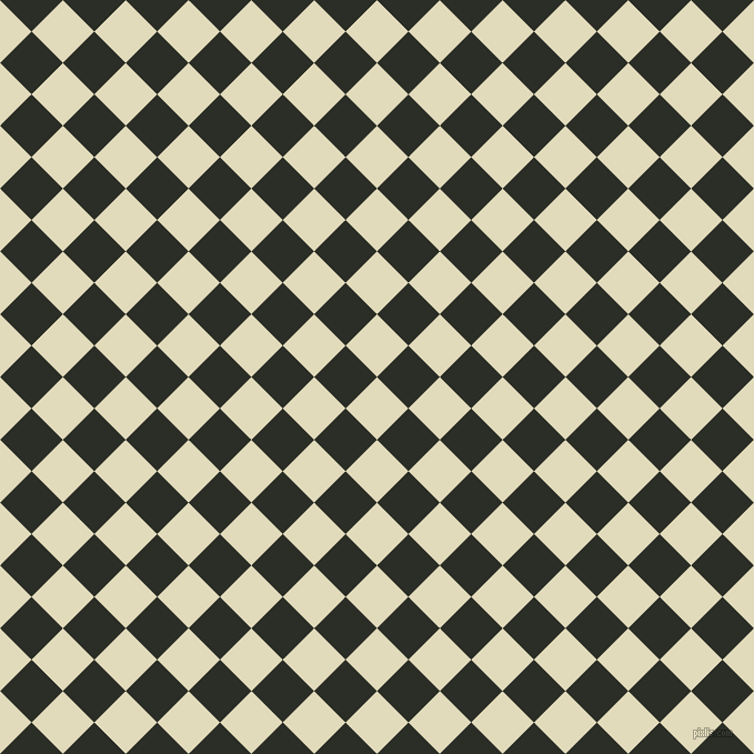 45/135 degree angle diagonal checkered chequered squares checker pattern checkers background, 40 pixel square size, , Coconut Cream and Marshland checkers chequered checkered squares seamless tileable